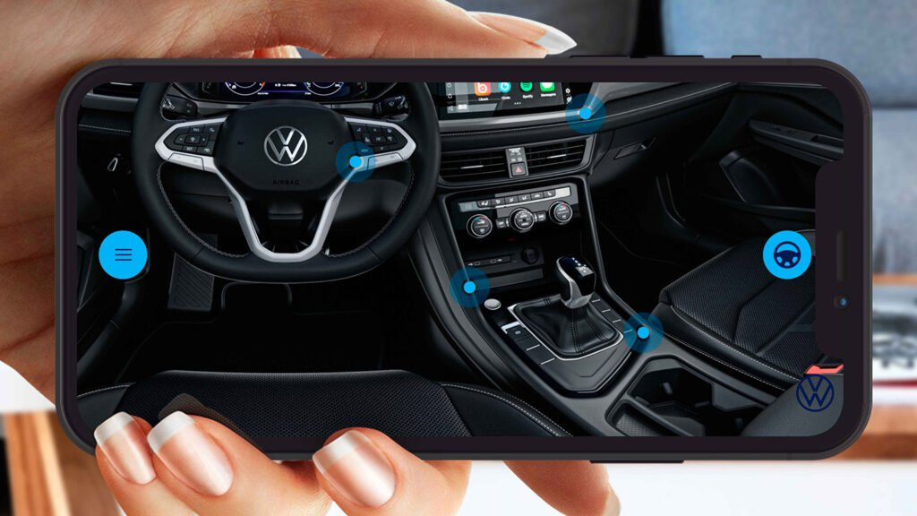 Volkswagen Argentina devela más detalles del Taos mediante una App de realidad aumentada