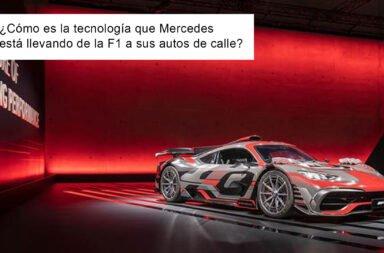 ¿Cómo es la tecnología que Mercedes está llevando de la F1 a sus autos de calle?