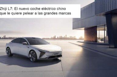 Zhiji L7: El nuevo coche eléctrico chino que le quiere pelear a las grandes marcas