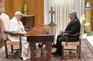Alberto Fernández y el Papa Francisco