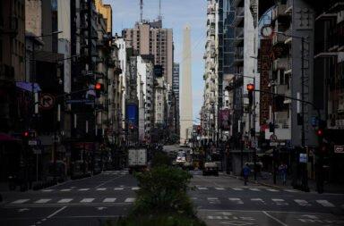 horario de cierre calles vacías