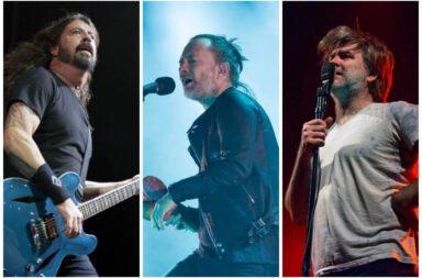 Radiohead Foo Fighters