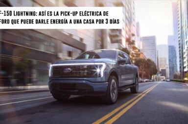 F-150 Lightning: Así es la pick-up eléctrica de Ford que puede darle energía a una casa por 3 días
