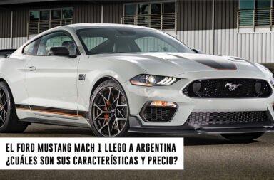 El Ford Mustang Mach 1 llegó a Argentina ¿Cuáles son sus características y precio?