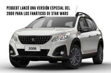Peugeot lanzó una edición especial del 2008 para los fanáticos de Star Wars