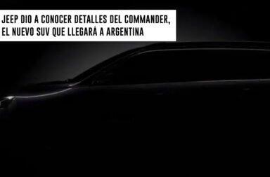 Jeep dio a conocer detalles del Commander, el nuevo SUV que llegará a Argentina