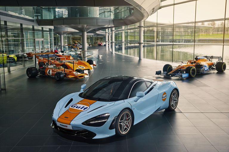 McLaren también viste de Gulf al 720S
