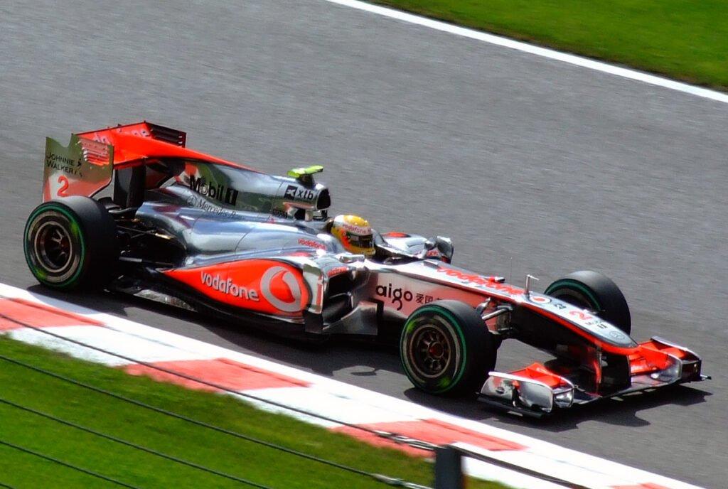 Sale a subasta por primera vez un monoplaza que utilizó Hamilton en F1