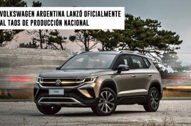 Volkswagen Argentina lanzó oficialmente al Taos de producción nacional