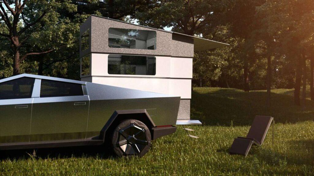 Tesla presentó una autocaravana que ya se agotó sin todavía ser fabricada