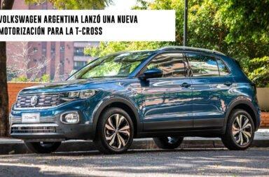 Volkswagen Argentina lanzó una nueva motorización para la T-Cross