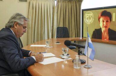 Alberto Fernández se reunirá en Roma con Kristalina Georgieva para avanzar en un acuerdo con el FMI