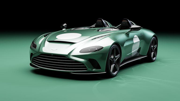 Aston Martin lanza una versión especial del V12 Speedster para homenajear al DBR1