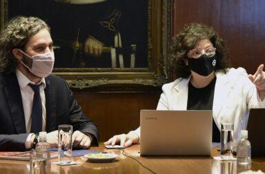 Cafiero y Vizzotti se reúnen con los expertos para definir las nuevas restricciones