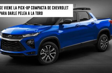 Se viene la pick-up compacta de Chevrolet para darle pelea a la Toro