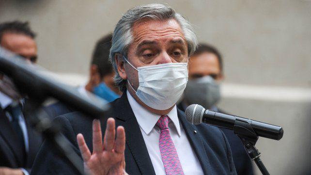 Alberto Fernández descartó volver a fase 1