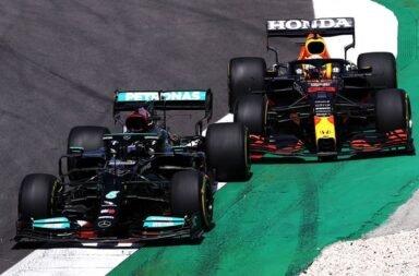 La tercera batalla entre Hamilton y Verstappen fue para el inglés