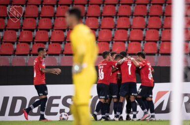 Independiente logró un empate a pesar de todo.