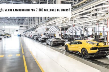 ¿Se vende Lamborghini por 7.500 millones de Euros?