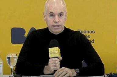 Rodríguez Larreta confirmó la presencialidad en los jardínes y las escuelas primarias a partir del lunes 31 de mayo