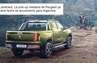 Landtreck: La pick-up mediana de Peugeot ya tiene fecha de lanzamiento para Argentina