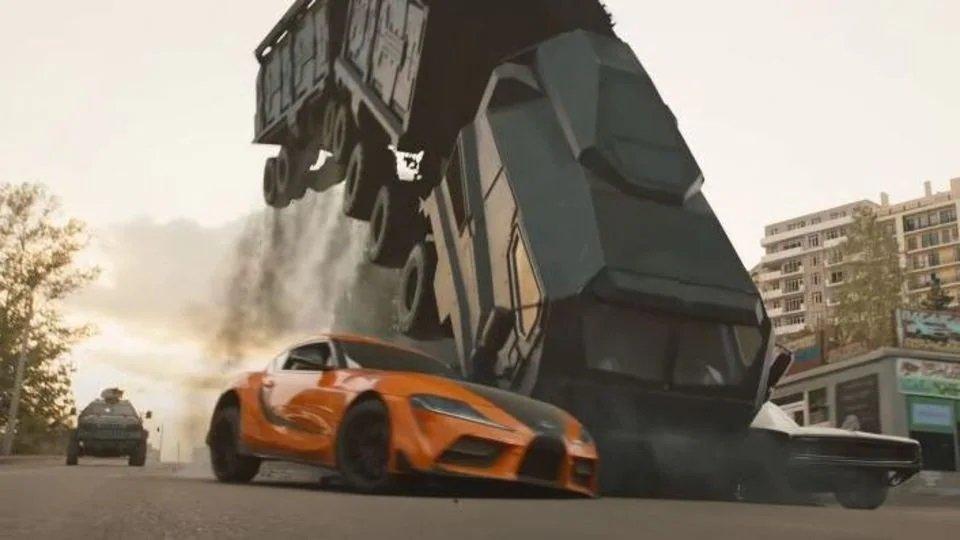 El detrás de escena de Rápido y Furioso 9: ¿Qué hay de real en las tomas de choques?
