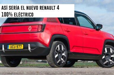 Así sería el nuevo Renault 4 100% eléctrico