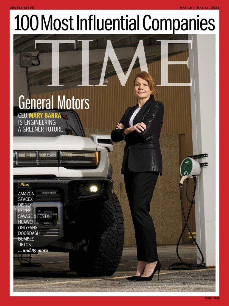 ¿Cuáles son las compañías automotrices más influyentes del mundo según Time?