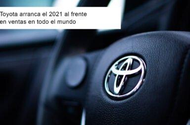 Toyota arranca el 2021 al frente en ventas en todo el mundo