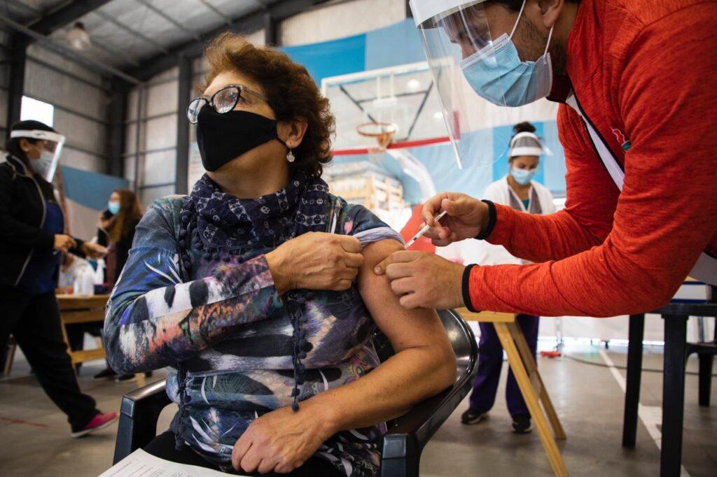 Vacunas puestas el fin de semana