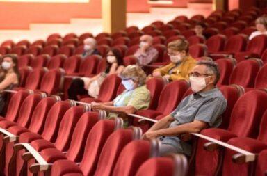 Habilitan el regreso de las funciones en cines, teatros y salas de espectáculos de centros culturales