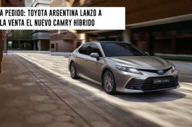 A pedido: Toyota Argentina lanzó a la venta el nuevo Camry híbrido