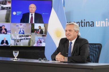 Sputnik V en Argentina: Alberto Fernández y Vladímir Putin anunciaron el inicio de la producción de la vacuna en Argentina