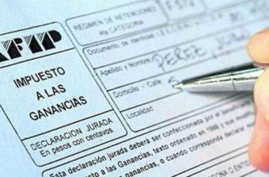 Impuesto a las ganancias: Los cambios regirán para los sueldos de junio y el aguinaldo