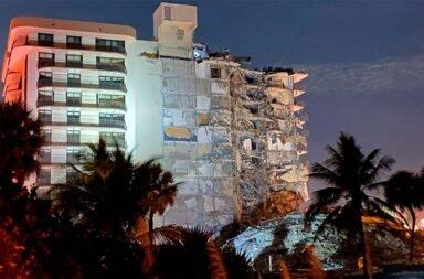 Derrumbe en Miami: ya son 4 las víctimas y buscan a 159 desaparecidos
