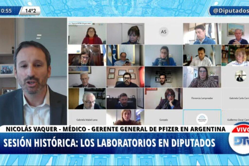 Nicolás Vaquer, gerente de Pfizer, desmiente: