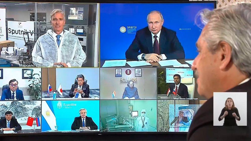 conferencia sputnik v argentina