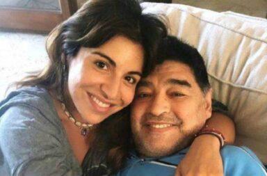 Polémica: Gianinna Maradona habló sobre la subasta de los bienes de Maradona y mostró chats para desmentir a Ojeda