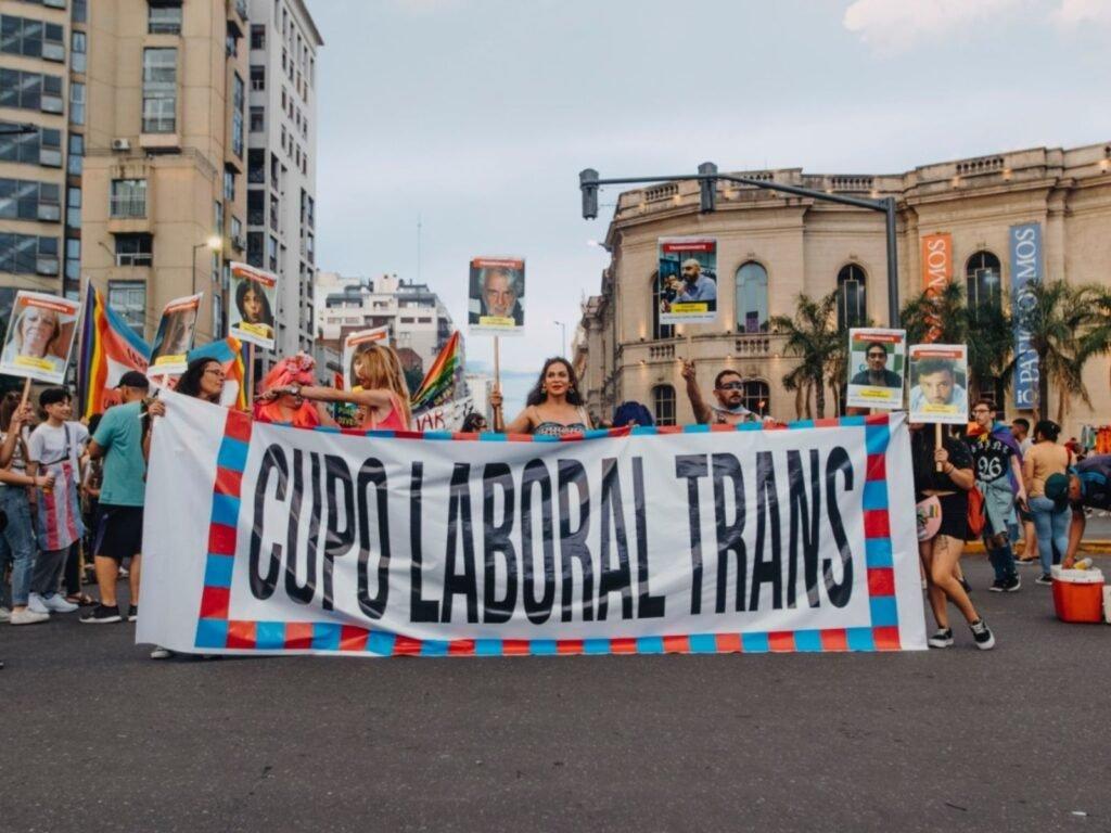 cupo laboral travesti trans