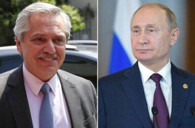 Alberto Fernández y Vladimir Putin anunciarán la producción de la Sputnik V en Argentina el próximo viernes