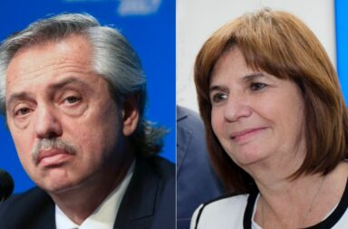 Alberto Fernández demandó a Patricia Bullrich por 100 millones de pesos por sus declaraciones por los supuestos pedidos de coima de Pfizer