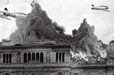 "Bombardeo a Plaza de Mayo en 1955 : Cristina Kirchner lo calificó de ""barbarie antiperonista"""