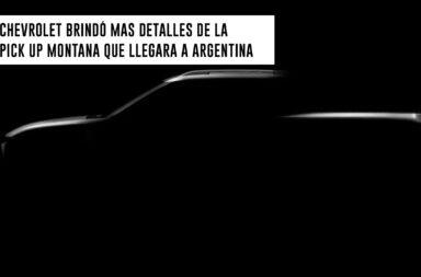 Chevrolet brindó más detalles de la pick up Montana que llegará a Argentina