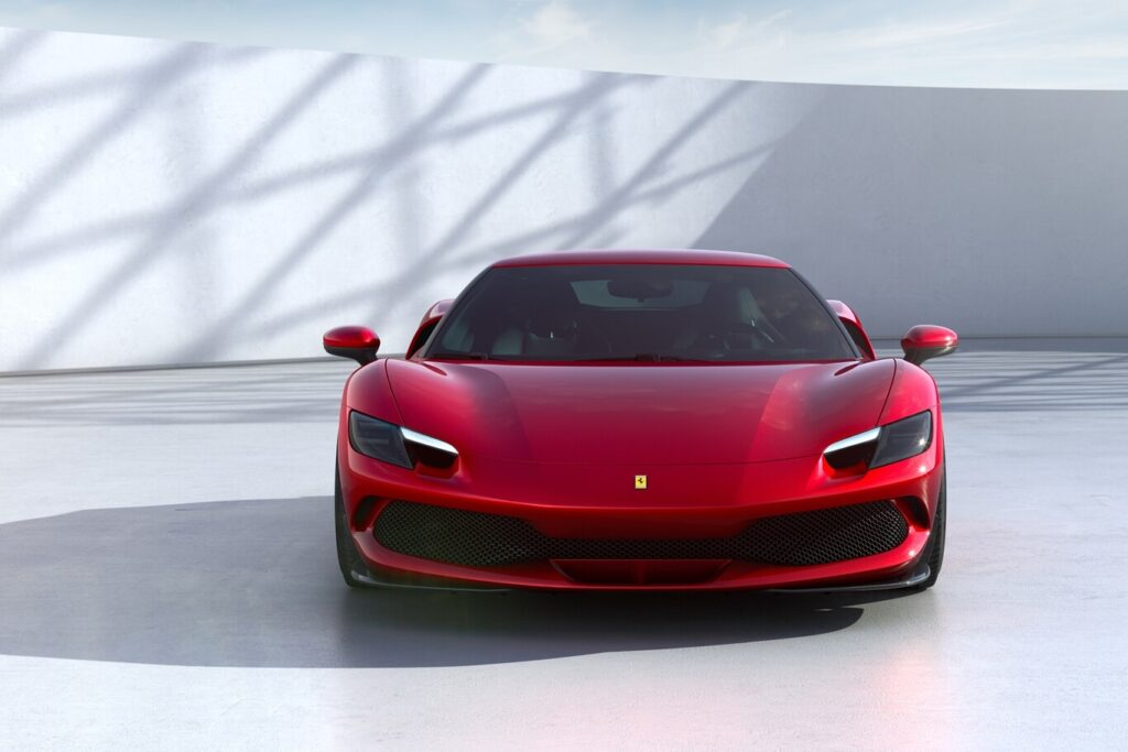 Ferrari le dio comienzo a la era V6 con la nueva 296 GTB