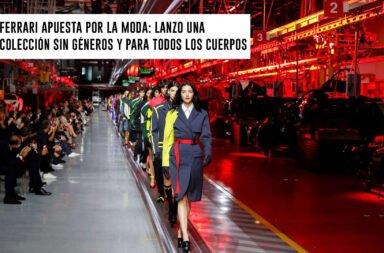 Ferrari apuesta por la moda: lanzó una colección sin géneros y para todos los cuerpos