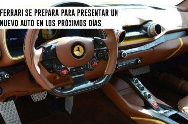 Ferrari se prepara para presentar un nuevo auto en los próximos días