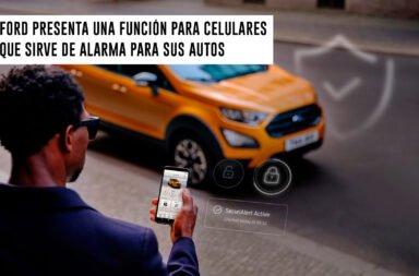 Ford presenta una función para celulares que sirve de alarma para sus autos