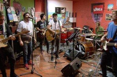 La Franela presenta 'Veneno' celebrando a La Renga por su álbum 'Despedazado por mil partes'