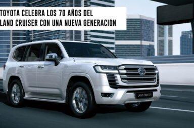 Toyota celebra los 70 años del Land Cruiser con una nueva generación