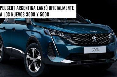 Peugeot Argentina lanzó oficialmente a los nuevos 3008 y 5008
